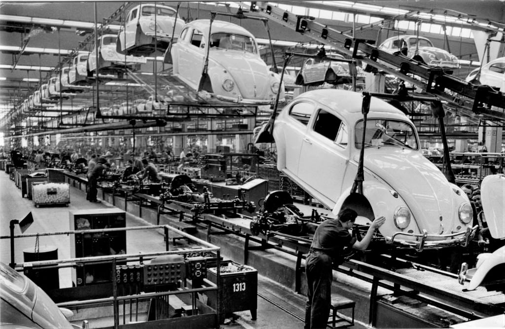 Beetle Asembly Line at Volkswagon
