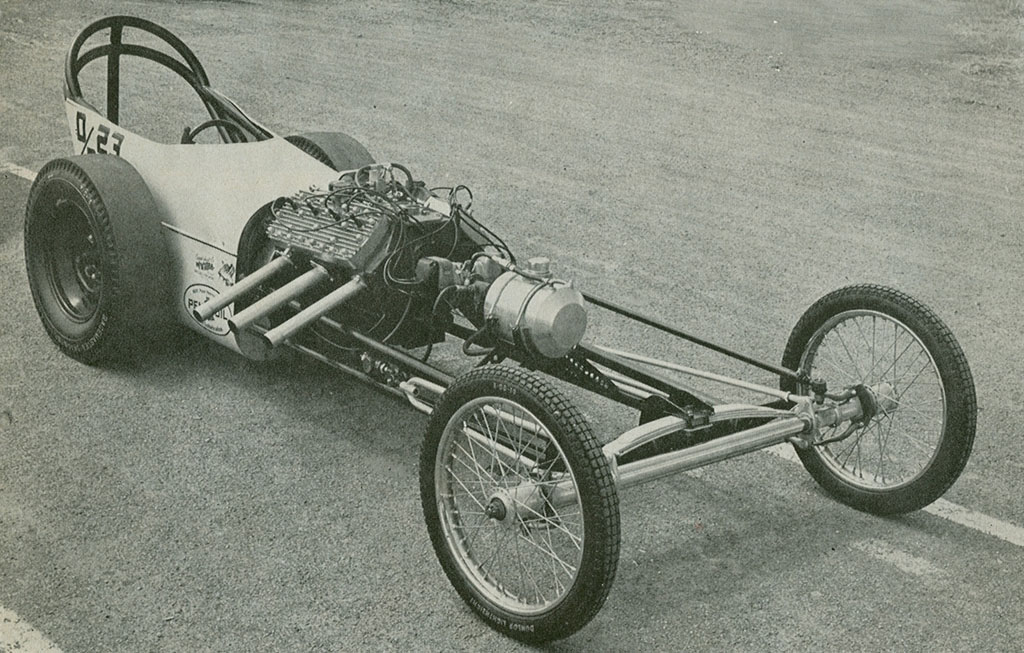 Flathead Dragster