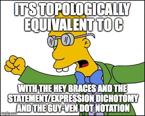 Professor Frink on Java