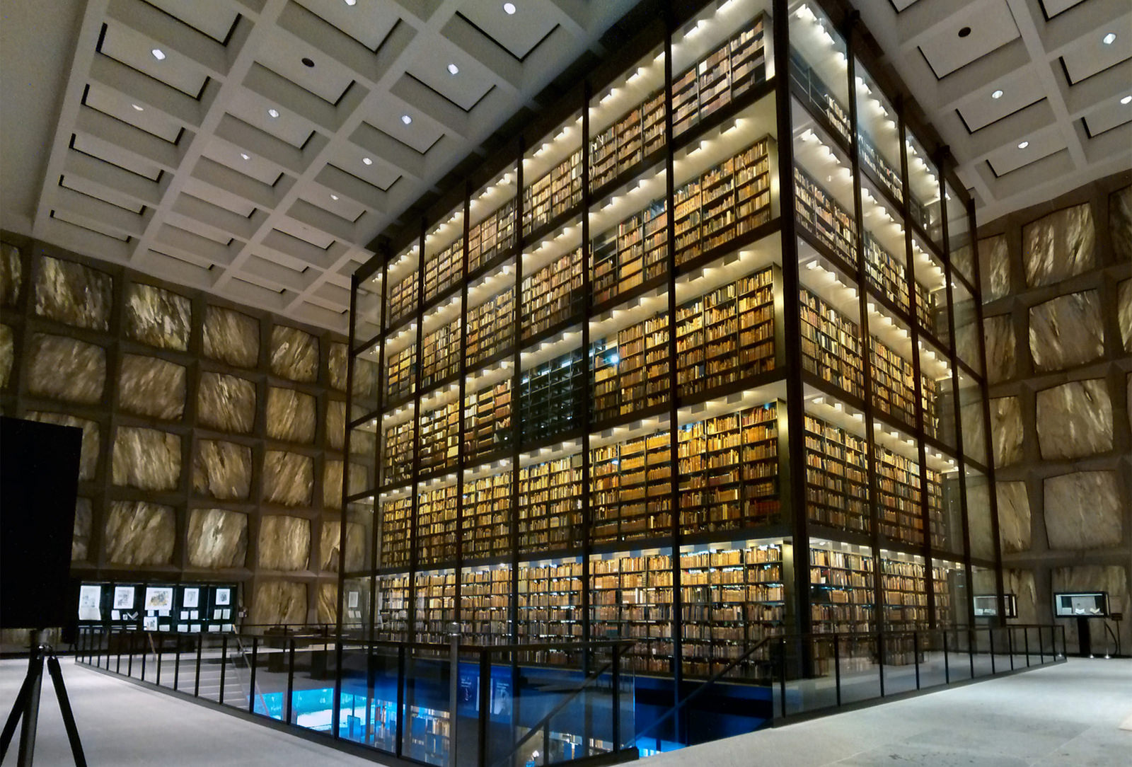 Beinecke Rare Book & Manuscript Library Interior