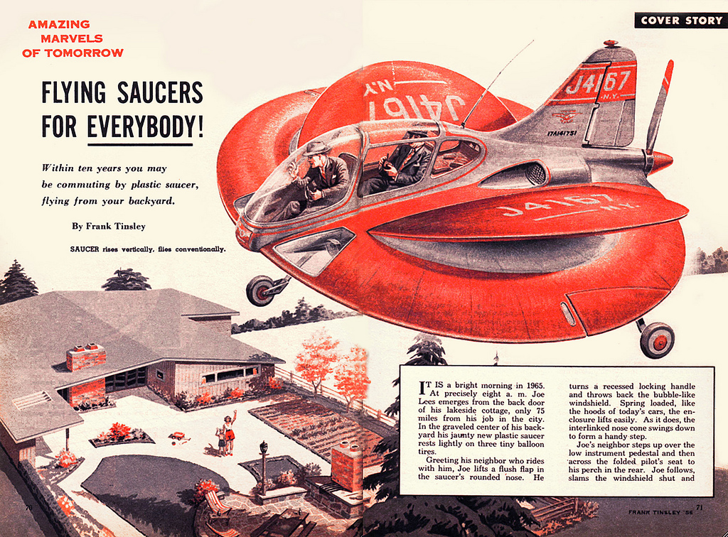 Flying saucers for everyone